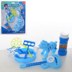 Мыльные бульбашки- игра (лоток, гитара, животное, запаска) 2068-12AB