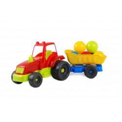 Трактор с шариками, KW-07-711-4
