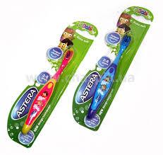 Детская зубная щетка Astera Kids (Ультрамягкая)
