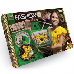 Комплект для творчества  Fashion Bag  вышивка лентами