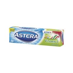 Зубная паста Astera Active + Vitamin 3 (3 Витамины) 100 мл.