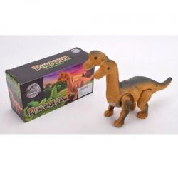 Динозавр 29см. (Ходит, звук, свет, на батарейках), 802