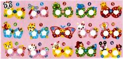 Набор для творчества 12 видов  Укрась волшебные очки  (40*12)