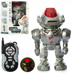 Робот (на радиокер., Ходит, ездит, стреляет диск, муз. (Англ.), Свет) 27108