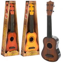 Гитара 40cм., Струны 4 шт., 0381-1-2-3
