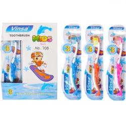 Зубная щетка детская Vinsa Soft дельфин 708