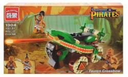 Конструктор BRICK  Пираты  Боевая машина, 2 фигурки 1304 146 деталей