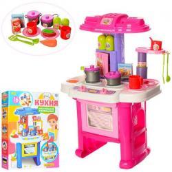 Игровой набор кухня детская Limo Toy Кухня маленькой хозяйки, 16641G / 16641D