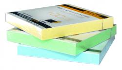 Бумага для заметок с клейким слоем SCHOLZ 76х76мм 100 листов неон желтая 8068