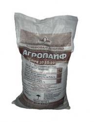 Удобрение Агролайф 10-10-10 25 кг