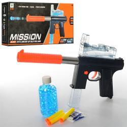 Автомат 36-14см (водяные пули, пули-присоски 3 шт.) M206C