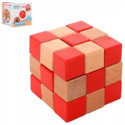Головоломка Burrpuzzle Куб деревянная, 5150
