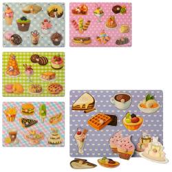 Рамка-вкладыш сладости 8 предметов MD 1272