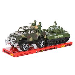 Набор военных машин инерционных, 333