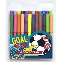 Фломастеры 1Вересня Team football 24 цвета, 650413