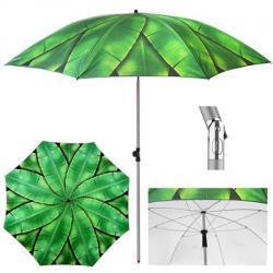Зонт пляжный Stenson Банановые листья d2м с наклоном, MH-3371-1