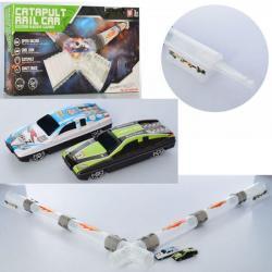 Игровой набор Catapult Rail Car гоночный трек - тоннель, D2086-6