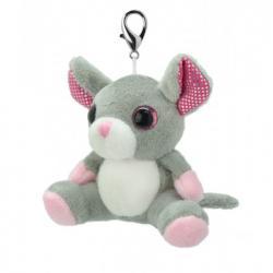 Игрушка мягконабивная Wild Planet Мышка брелок, K8475