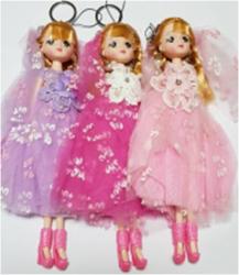 Брелок Кукла 23см S-3449
