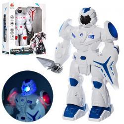 Робот 27см (ходит, звук, свет, на батарейках) 27166