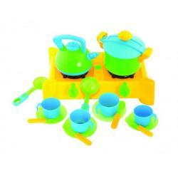 Набор с посудой 17 предметов, KW-04-414