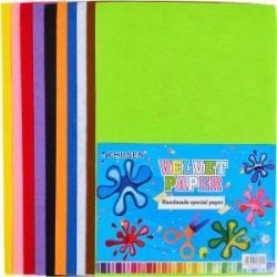 Набор для творчества А4 Velvet paper 10 листов ткань 530251