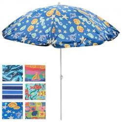 Зонт пляжный Stenson d1,8м с наклоном, MH-0036