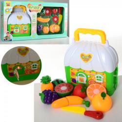 Продукты (на липучке, фрукты, чем, домик, чемодан, муз., Свет, бат) 36778-131A