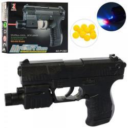 Пистолет на шариках 13,5см., 138D