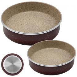Набор форм для выпечки Stenson 2 предмета 30 х 7 см., 34 х 7 см антипригарное покрытие, МН-2760