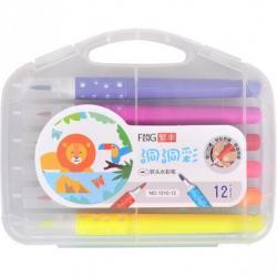 Фломастеры - кисточки COLOR-IT 12 цветов 1010-12