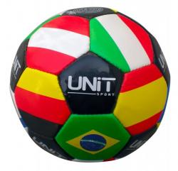 Мяч футбольный 20125-US  Флаги  5  PVC UNIT