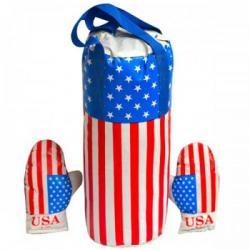 Боксерский набор Danko Toys  Америка  большой, L-USA