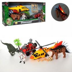 Игровой набор Dinosaur World транспорт с динозаврами, 2121-25E