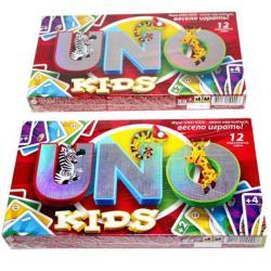 Игра малая настольная Danko Toys UNO Kids, ФР-00007402