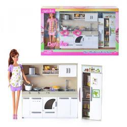 Кукла (кухня, продукты, посуда, свет), DEFA 6085