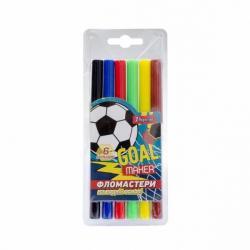 Фломастеры 1Вересня Team football 6 цветов, 650417