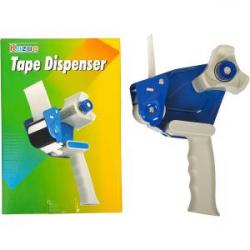 Диспенсер для упаковочного скотча с ручкой COLOR-IT Т15008