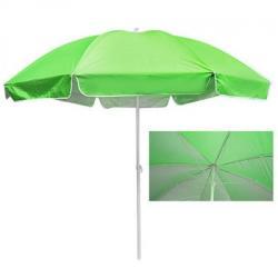 Зонт пляжный Stenson 3м карбоновые спицы, с серебристым покрытием, MH-3323-G