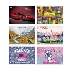 Альбом для рисования 16 листов А4 BRISK АВ-6