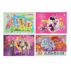 Альбом для рисования А4 20 листов с перфорацией  Disney  Тетрада Ш-4945
