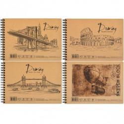 Альбом для рисования KRAFT А5 30 листов