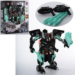 Трансформер 23см, робот-машинка, оружие 8820A