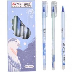 Ручка гелева Пиши-Стирай COLOR-IT 0,38мм. синяя 3730