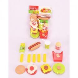 Продукты - фаст-фуд, посуда, 6621-1