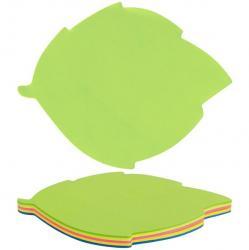 Блок бумаги с клейким слоем 70x70мм 50л.  Листок  Axent 37082