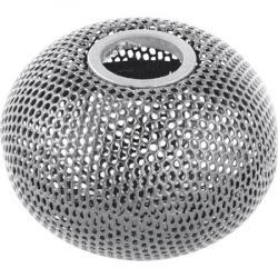 Бокс для скрепок металлический серебристый 75х75 мм  Шар  ВМ.6220-24