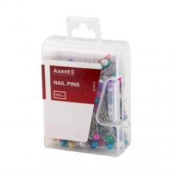 Булавки-шпильки цветные 200 шт. Axent 4216-А