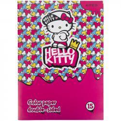 Бумага цветная двусторонняя Hello Kitty Kite HK21-250