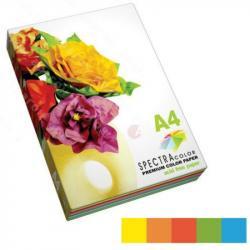 Бумага цветная SPECTRA COLOR Rainbow Pack Deep интенсив А4 100 листов 16.4244
